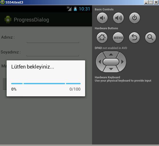 Android Progress Dialog - Ekrem YILDIZ – www ekremyildiz net